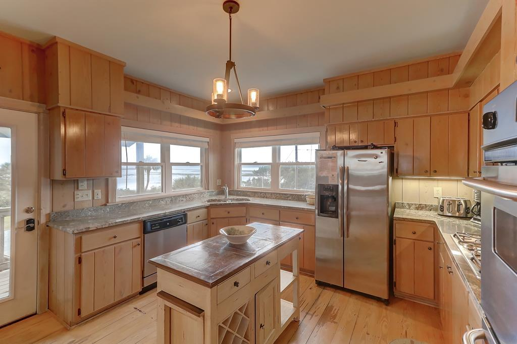 Kitchen with Lovely Marsh Views
