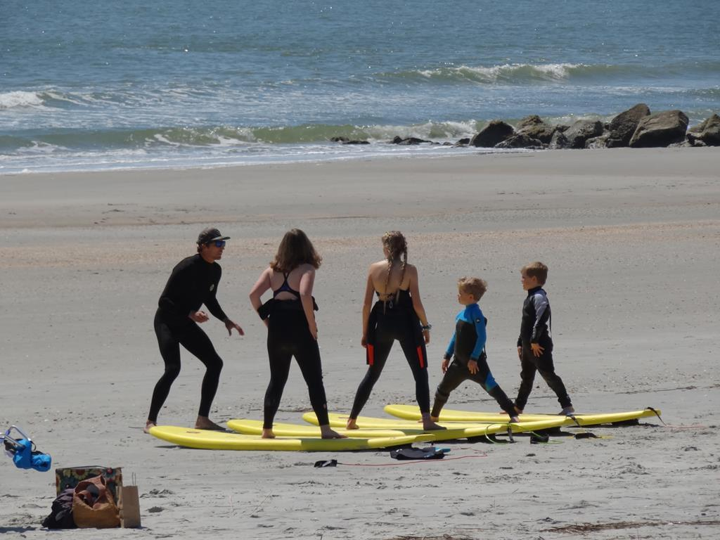 Take Surf Lessons! We can recommend