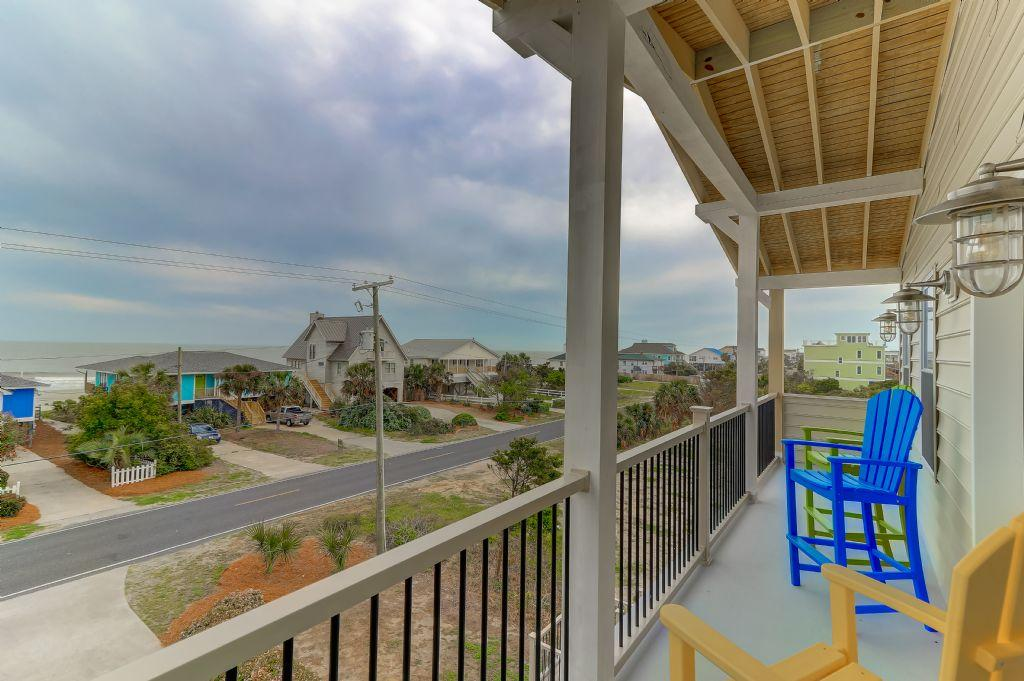 2nd Floor Porch with Ocean Views