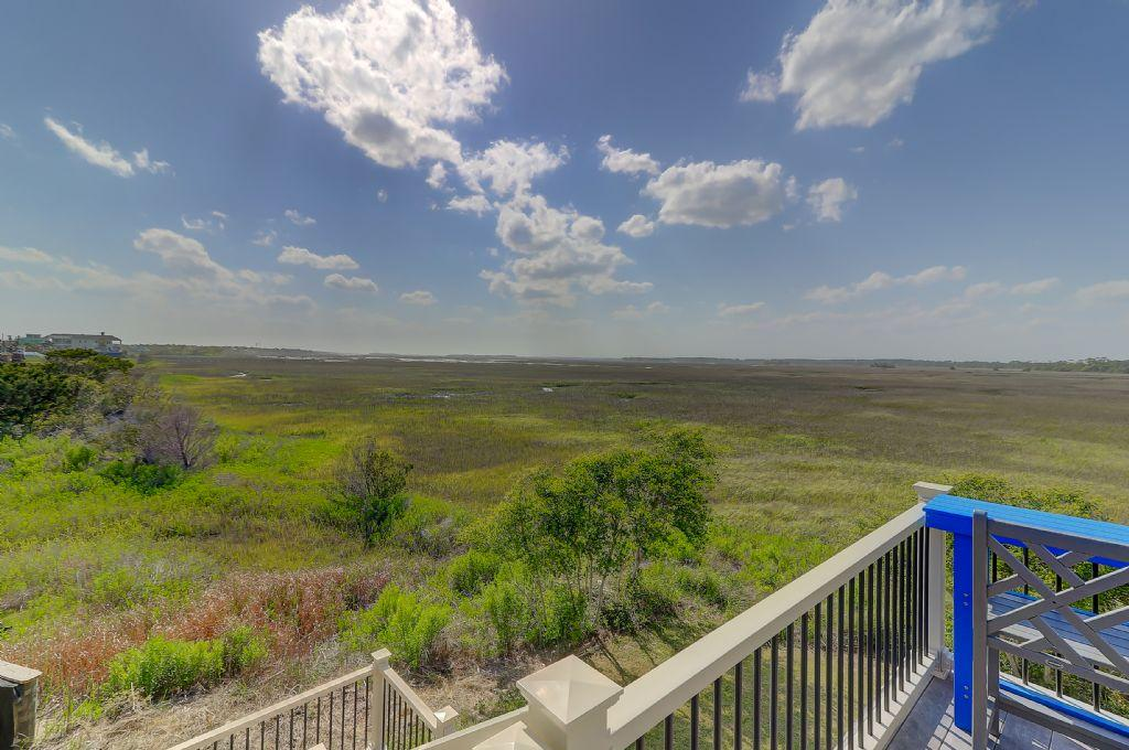 Back Deck with Marsh Views