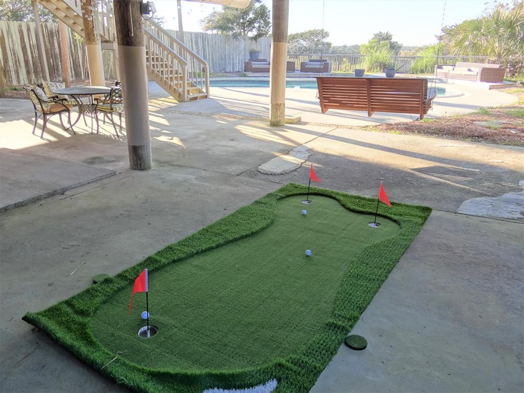 Putt Putt, Games, & Lounge Patio w/Pool View