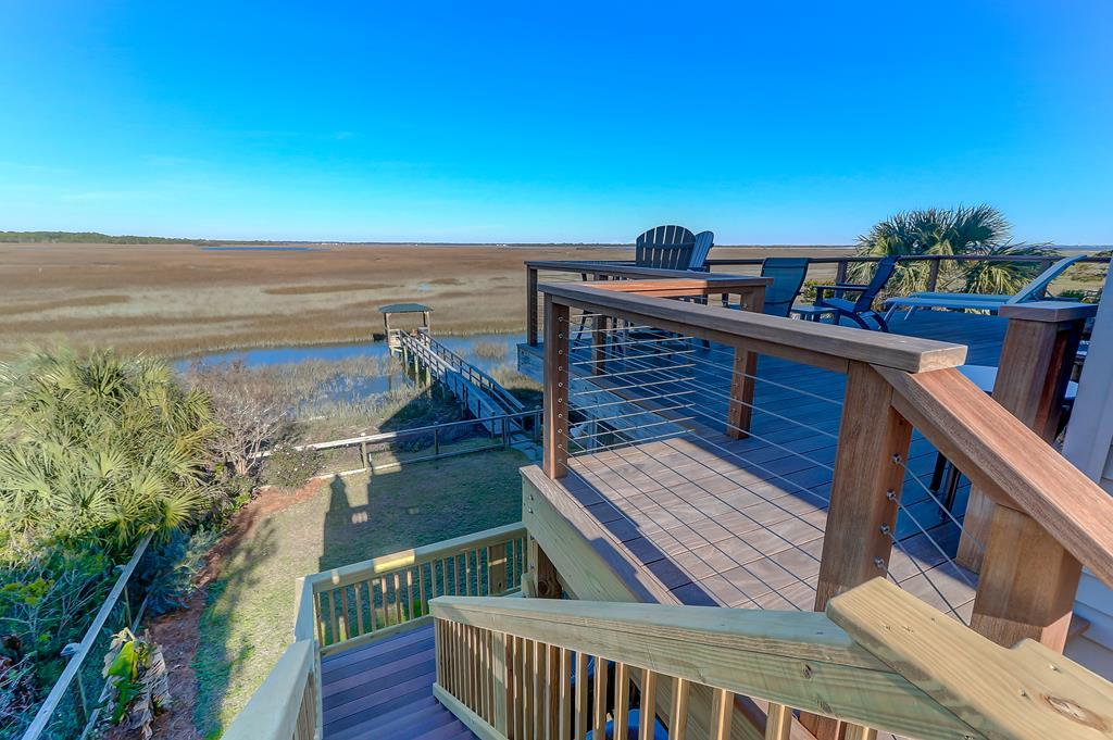 Marsh/River View Back Deck & Dock