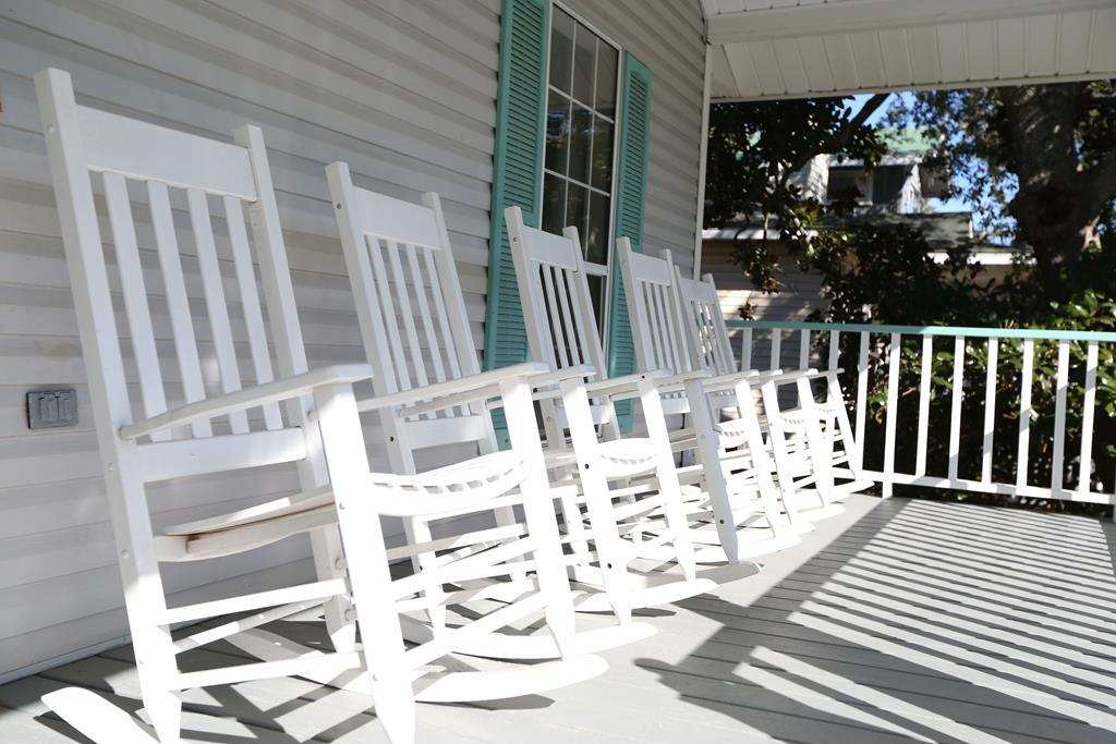 Front Porch - Relax in Rocking Chairs