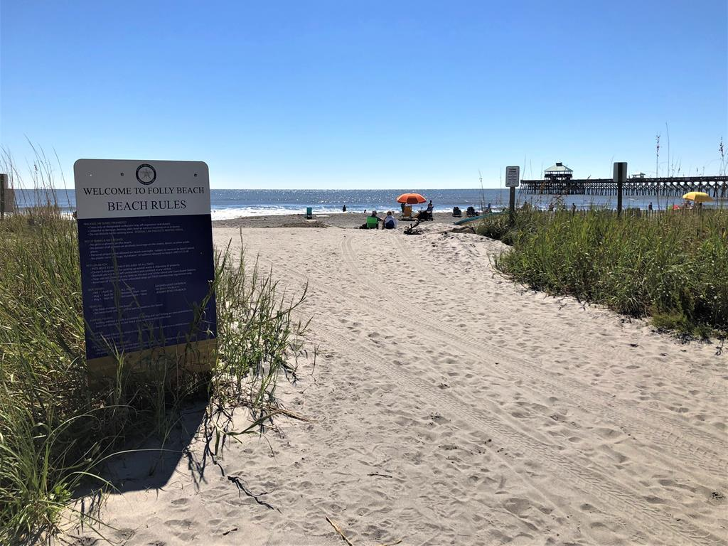 1st St. Public Beach Access, Right up the Street!