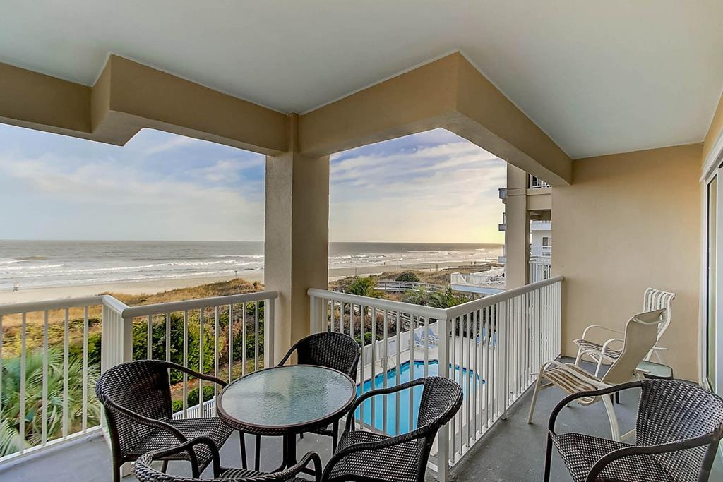 Ocean View from Your Private Balcony