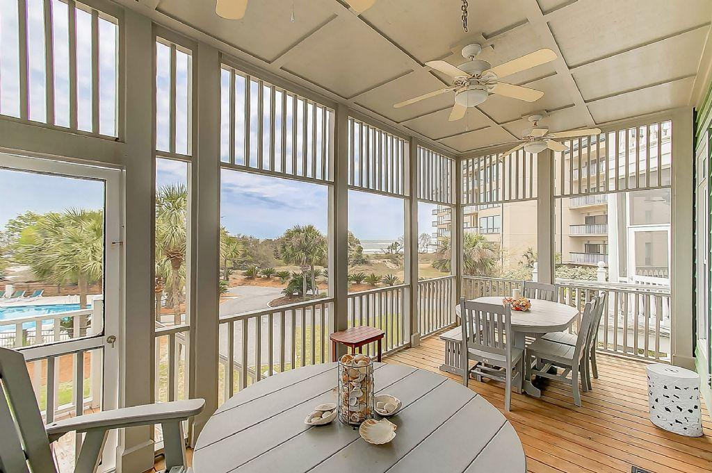 32 Ocean Point Screened porch