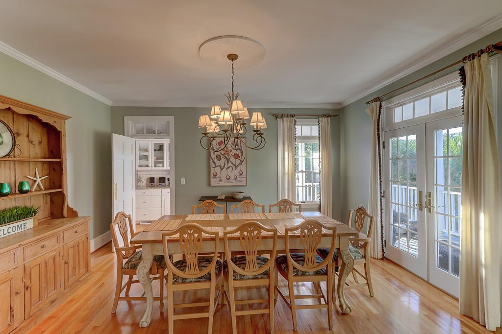 Dining Room with Kitchen Access