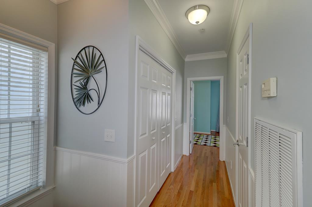 2nd Floor Hall with Laundry Closet