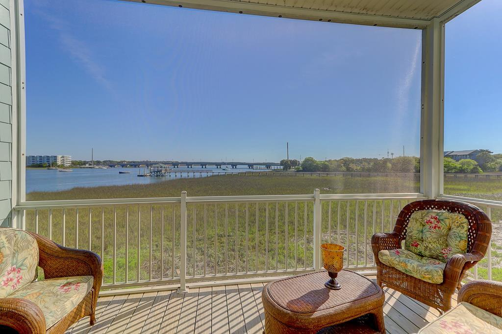 Screen Porch with Open River Views