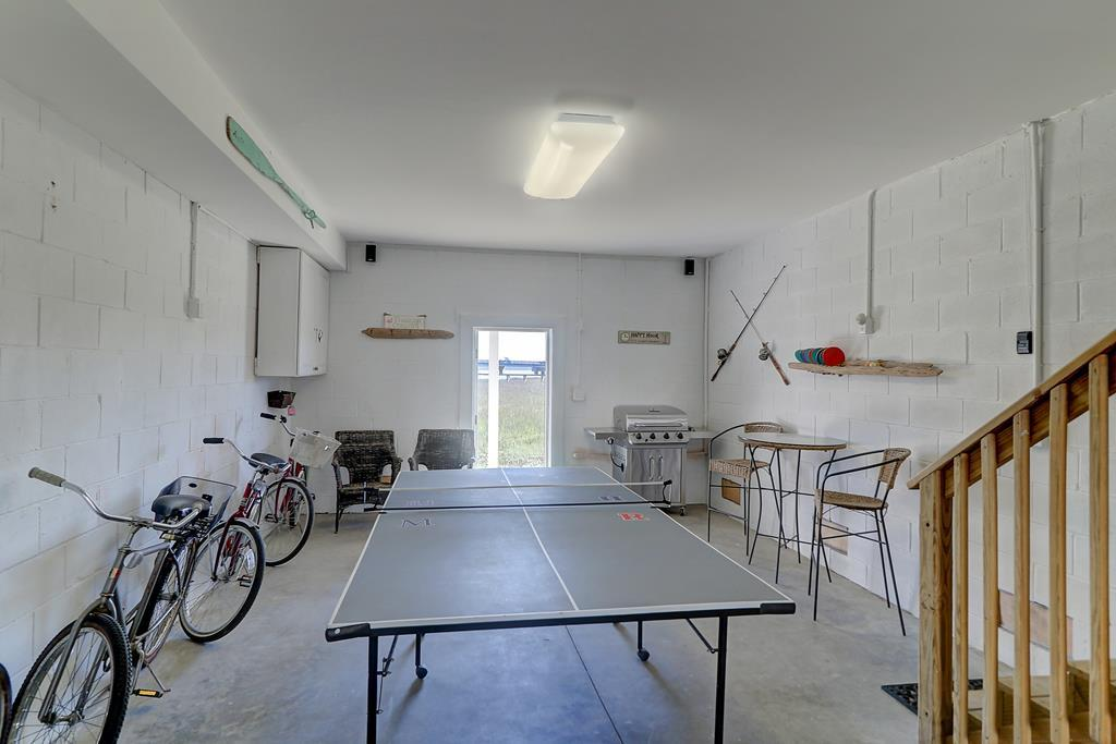 Ping Pong & Sporting Equipment Provided