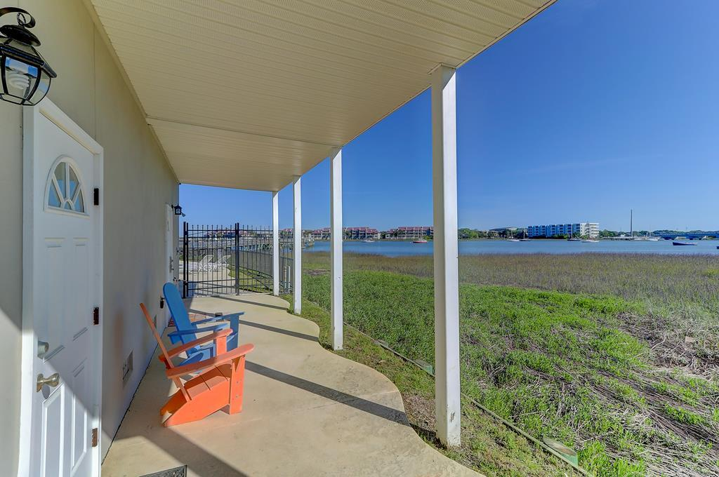 Ground Level Porch with Open River Views