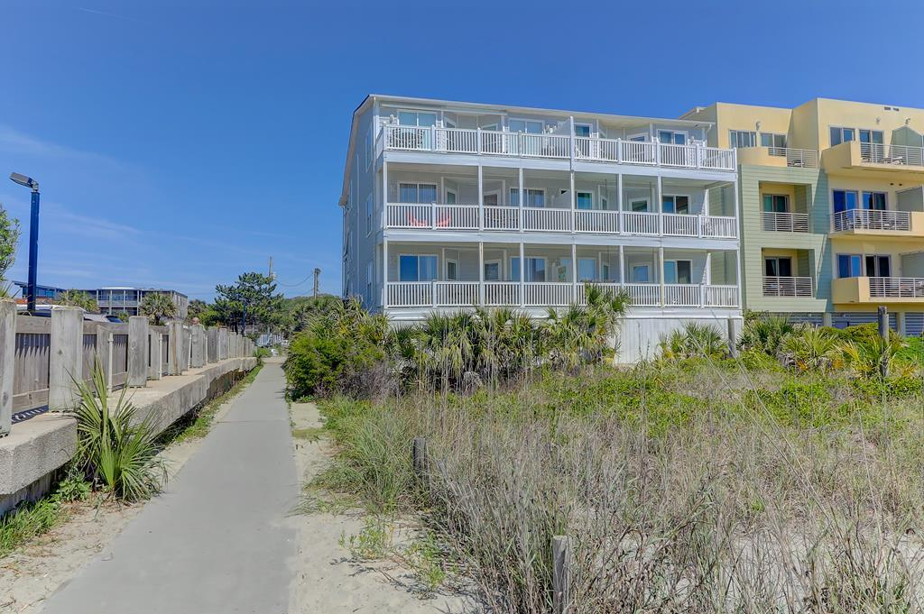 Ocean Side of Complex & Beach Access