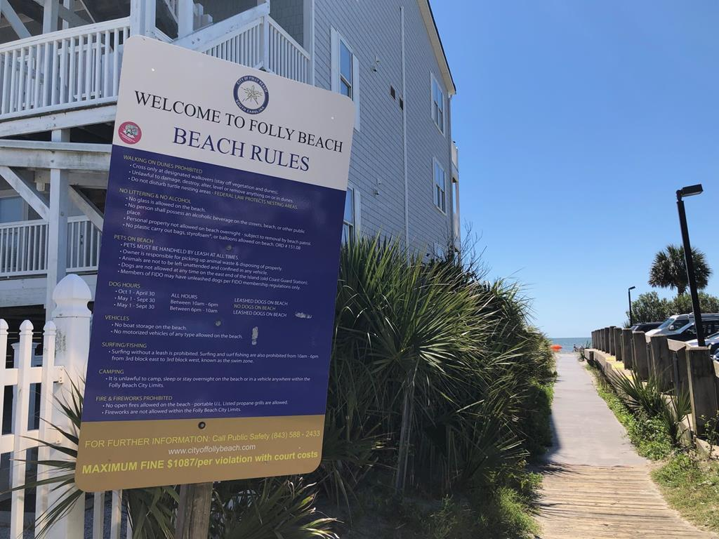 Folly Beach Rules & Beach Access
