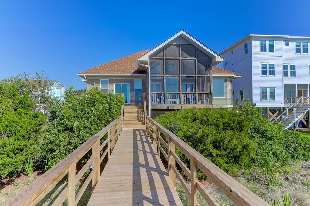 Ocean Side Of House - Screen Porch