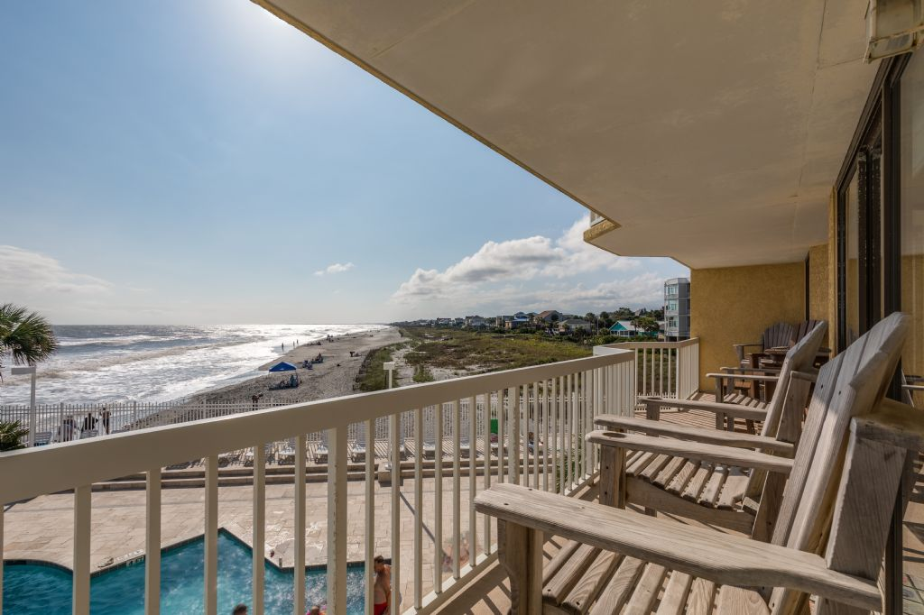 Chas. Oceanfront Villas 122 - Sunset to Remember | Photo 23