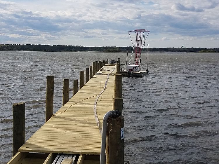Community Pier (Now Complete)