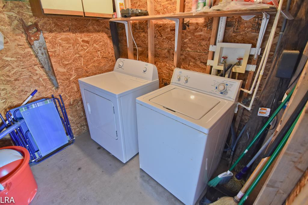 Laundry Room - under the house