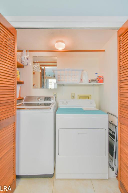 Laundry Closet (In Kitchen)