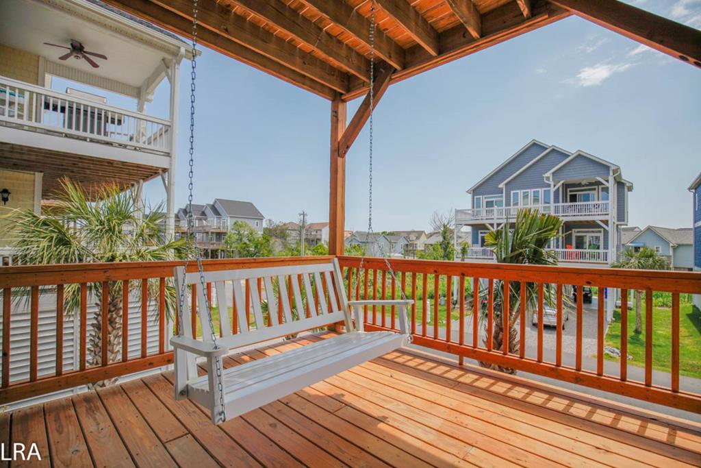 Lower Deck - Porch Swing