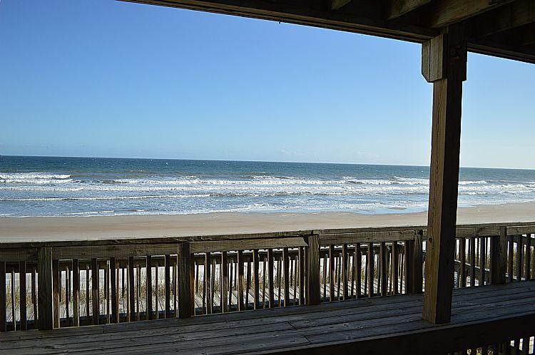 Oceanfront Deck, View 02