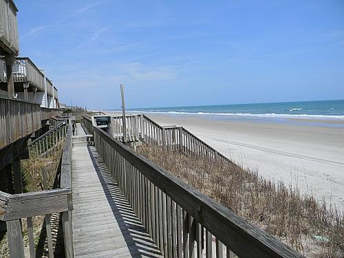 Connecting Walkway To Beach Access