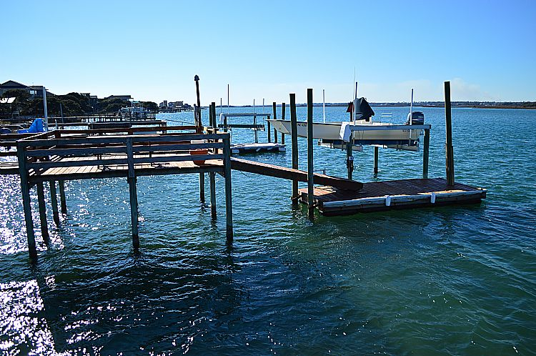 Sound Side Pier (available for an extra fee)