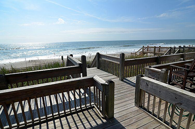 Beach access for all of building 910