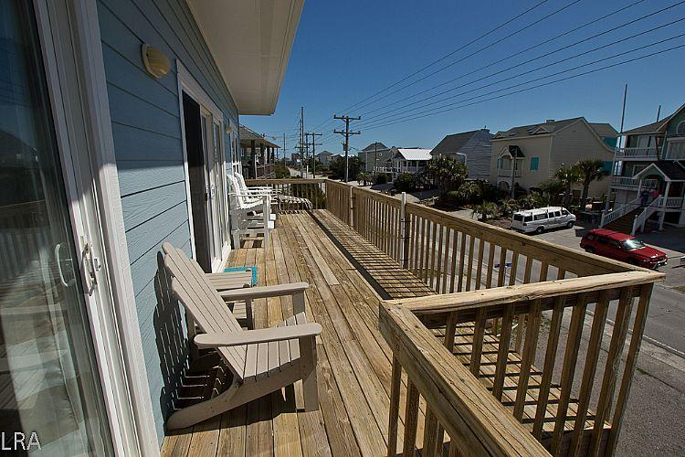 Upper Ocean Side Deck