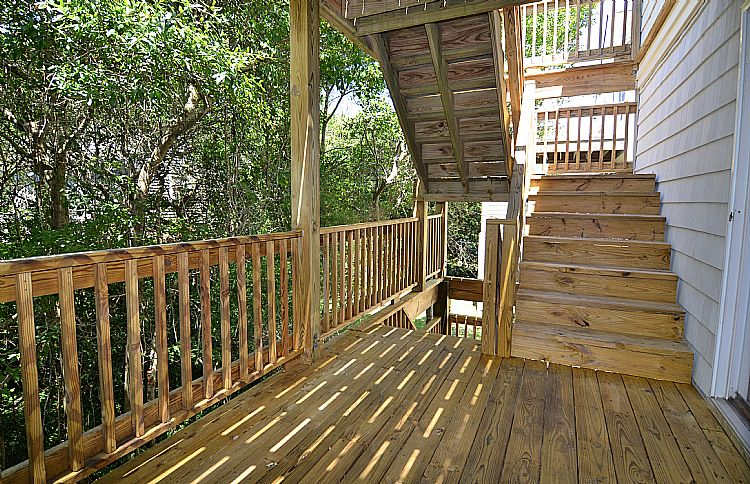 First Floor Rear Deck
